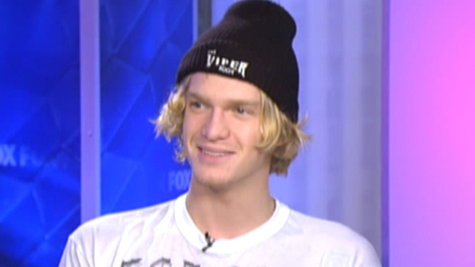 Cody Simpson's not singing the blues