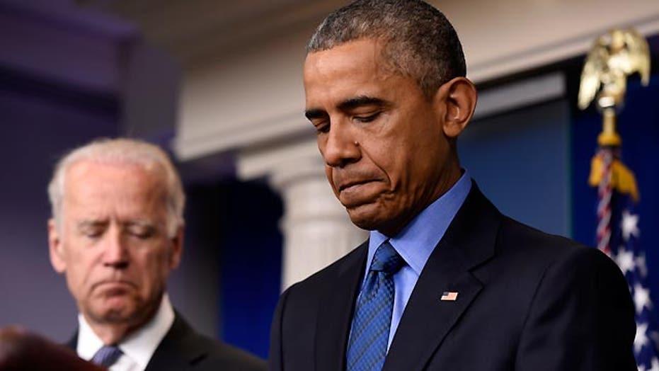 Obama stresses gun control after Charleston church shooting
