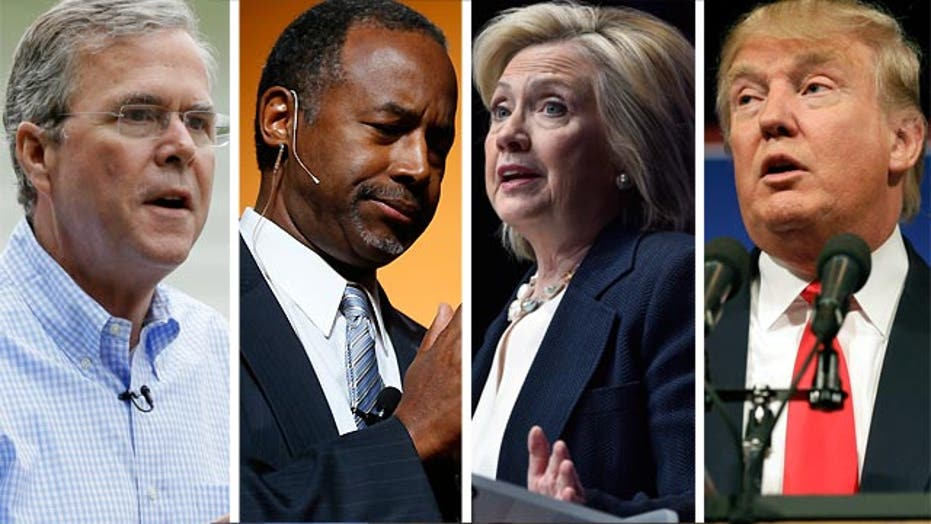 Presidential candidates weigh in on Charleston shooting