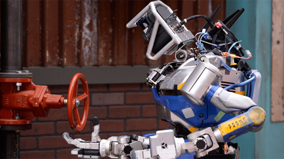The real 'Terminator:' Robots compete in the 2015 DARPA Robotics