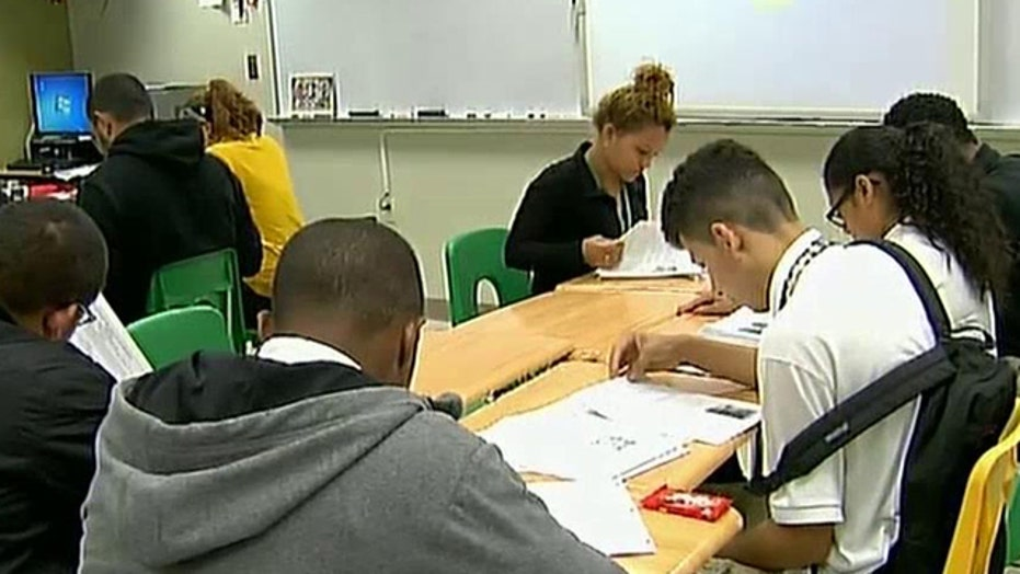 Educators struggling with influx of unaccompanied minors