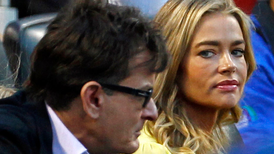 Sheen rips Denise Richards on dad's day