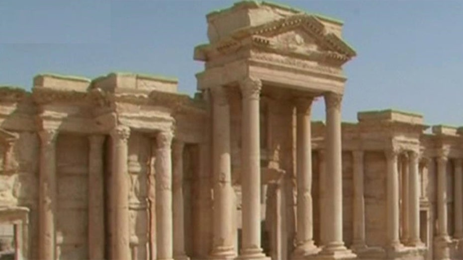 Activist group claims ISIS placed land mines in ancient city