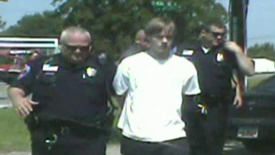Police release video, 911 call of Dylann Roof's arrest