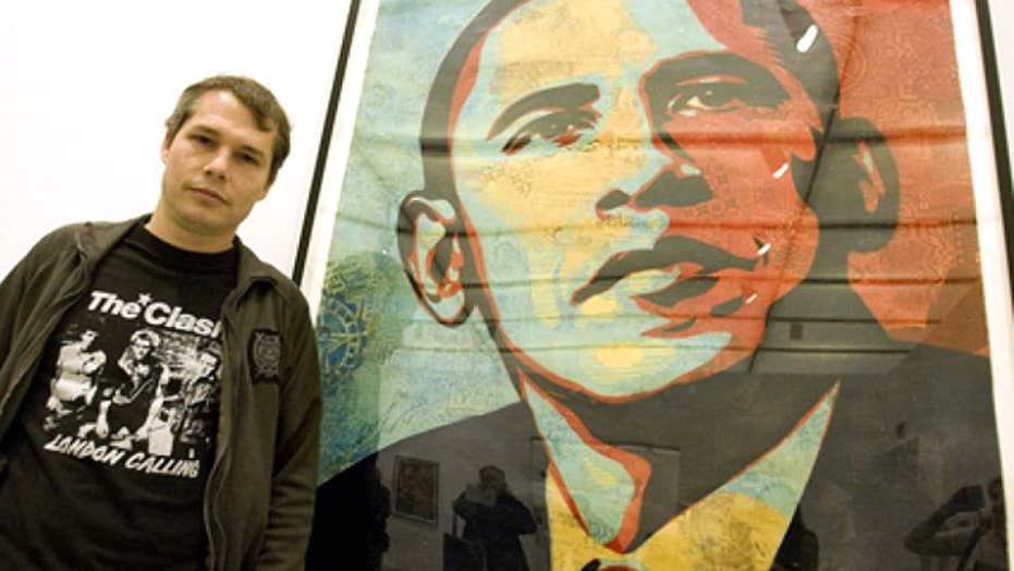 Obama 'Hope' poster artist wanted by Detroit police
