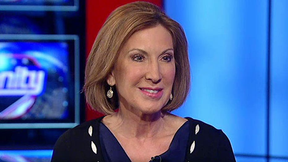 Carly Fiorina on why she's not afraid to take on Hillary