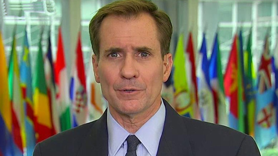 John Kirby on threat from ISIS, nuclear talks with Iran