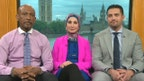 Former talk show host and family of Amir Hekmati show up uninvited at Iranian embassy in London and urge his release from prison. F