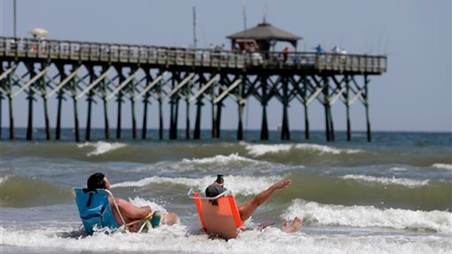 Experts examine 'very unusual' surge of shark activity in NC