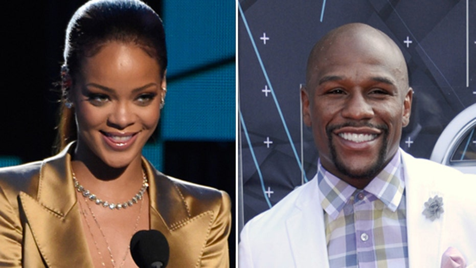 Rihanna, Mayweather seating questioned