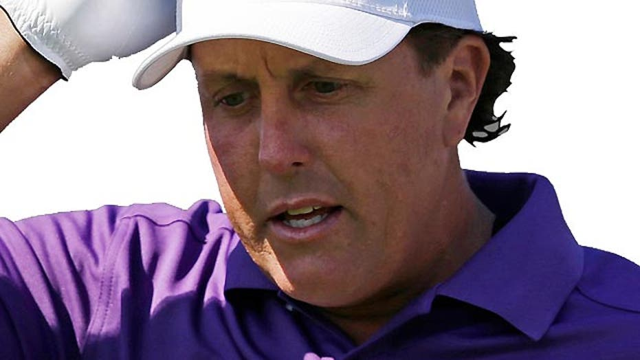 Report: Mickelson tied to money laundering, gambling scheme