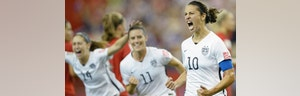 'Off the Record,' //: Against all odds, US women's soccer team will be in the World Cup finals this Fourth of July weekend, instilling national pride and reminding us all why we're proud to be Americans. ProudAmerican