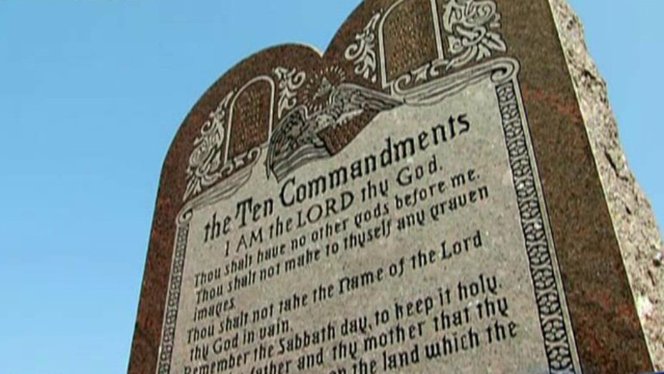 Ten Commandments monument must be removed from state Capitol