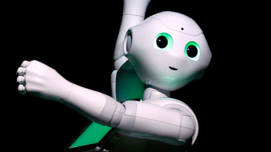 Wait, robots can get married?