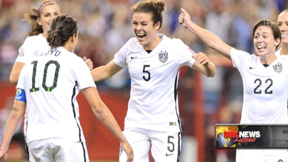 Women's World Cup: U.S. advances to the final