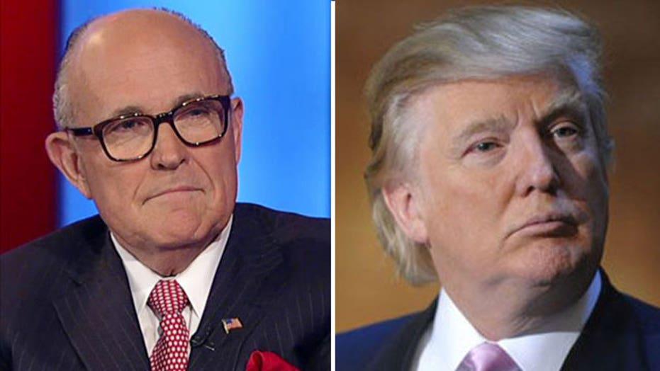 Rudy Giuliani weighs in on the Donald Trump debate