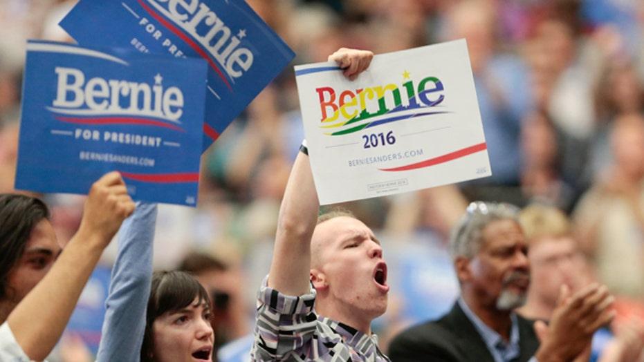 Voters responding to Bernie Sanders' authenticity?