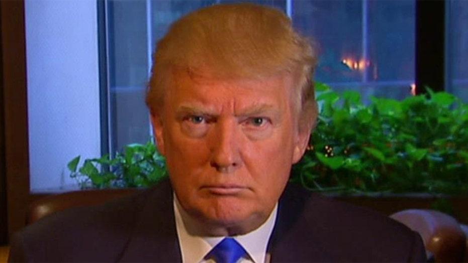 Donald Trump punching back
