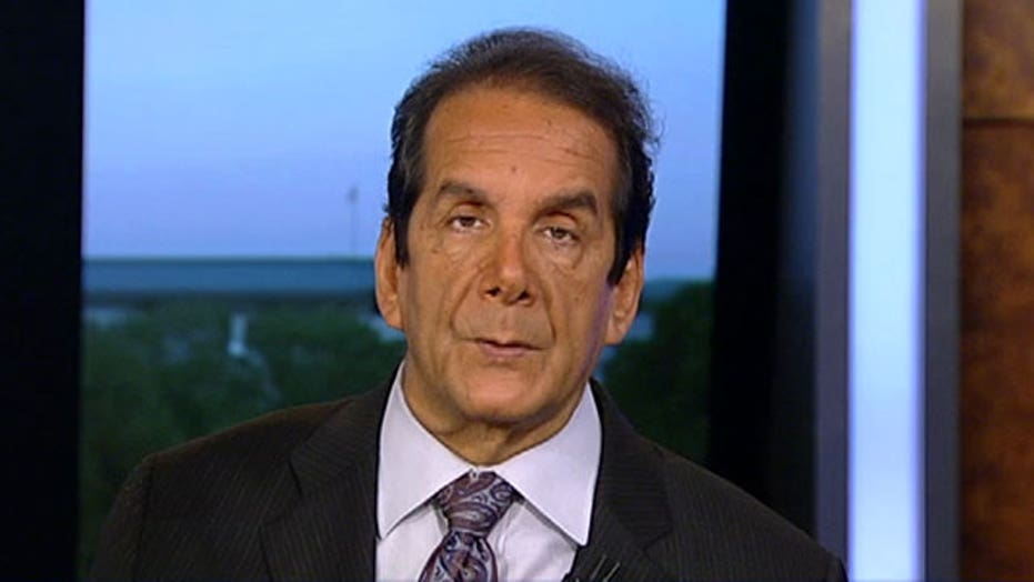 """Krauthammer: Clinton engaged in """"a fake campaign"""""""