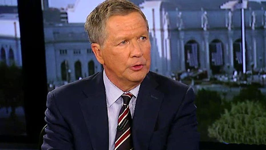 John Kasich on Iran, ISIS and foreign policy experience