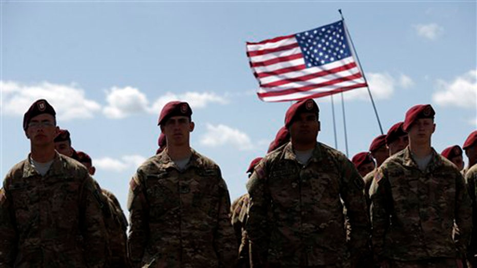 US Army plans to cut 40,000 troops over next two years
