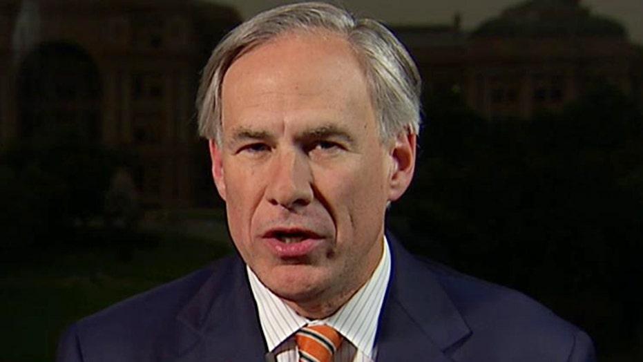 Gov. Greg Abbott slams admin's attitude toward immigration