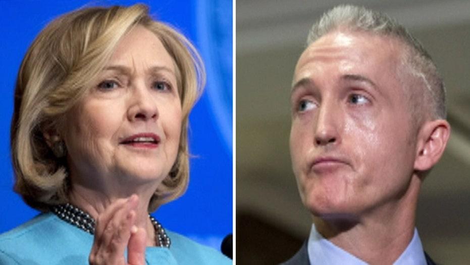 Clinton, Gowdy spar over Benghazi subpoena