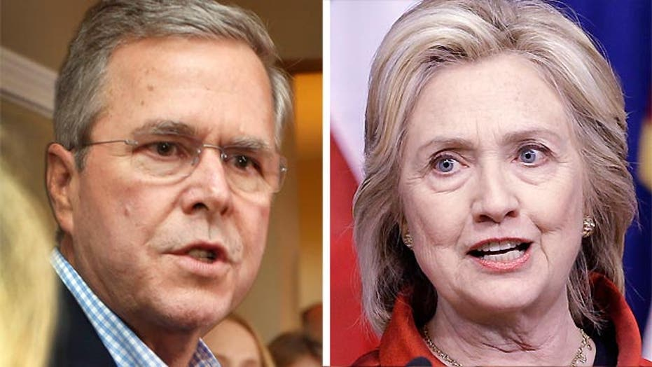 Bush vs. Clinton: Who's in touch with American workers?