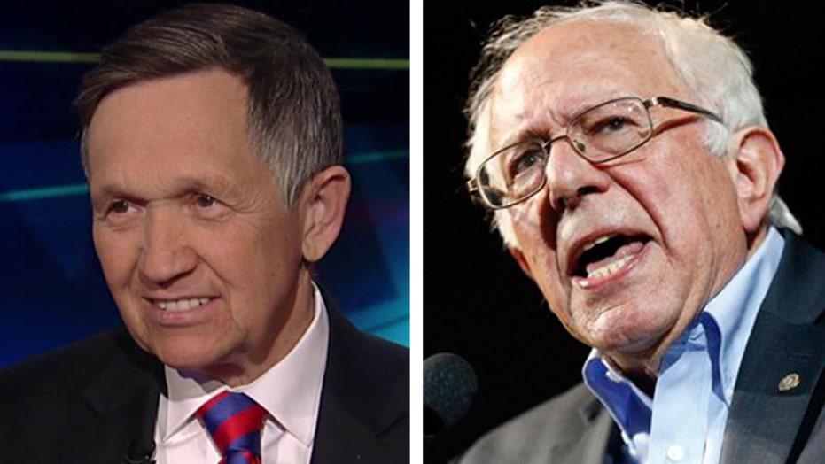Kucinich: Bernie Sanders is in it to stay