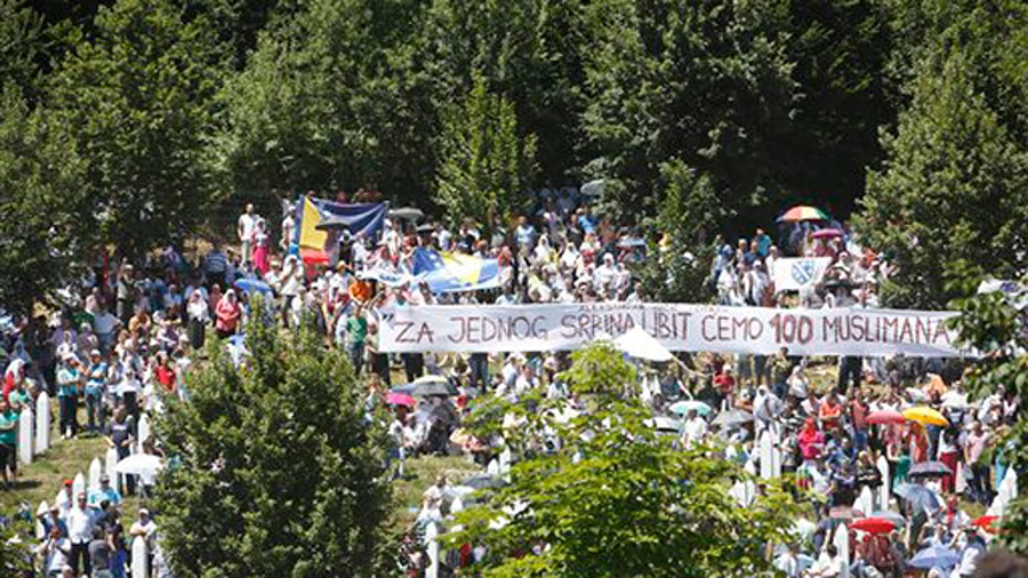 Large crowds mark 20th anniversary of Srebrenica massacre