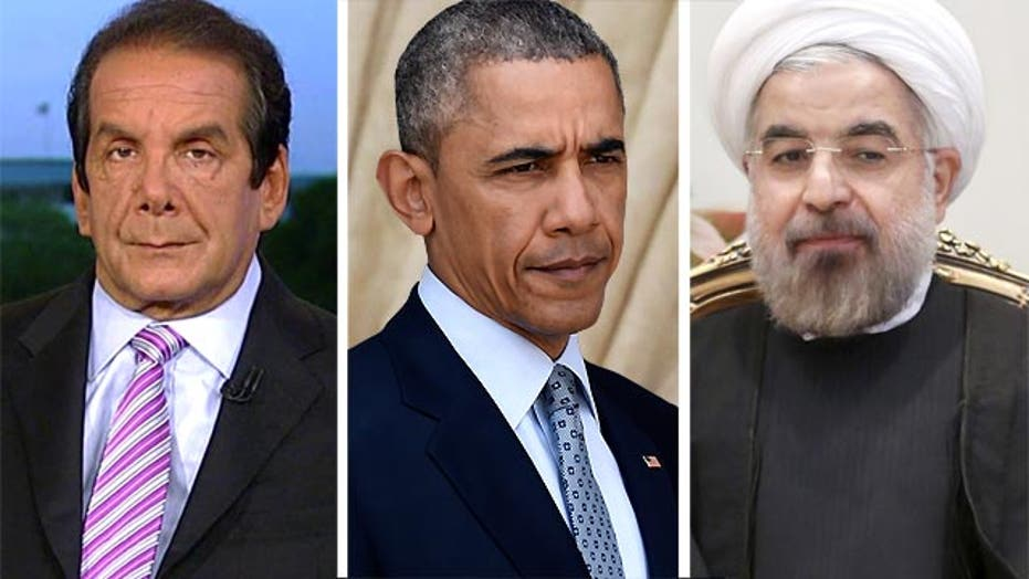 "Krauthammer: Obama ""Gave In"" to Iran"