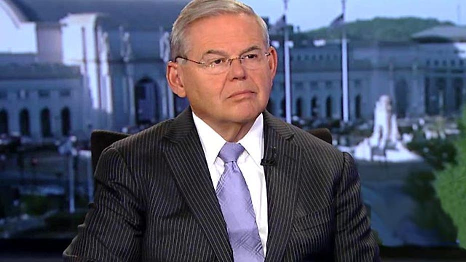 Sen. Bob Menendez outlines objections to Iran nuclear deal