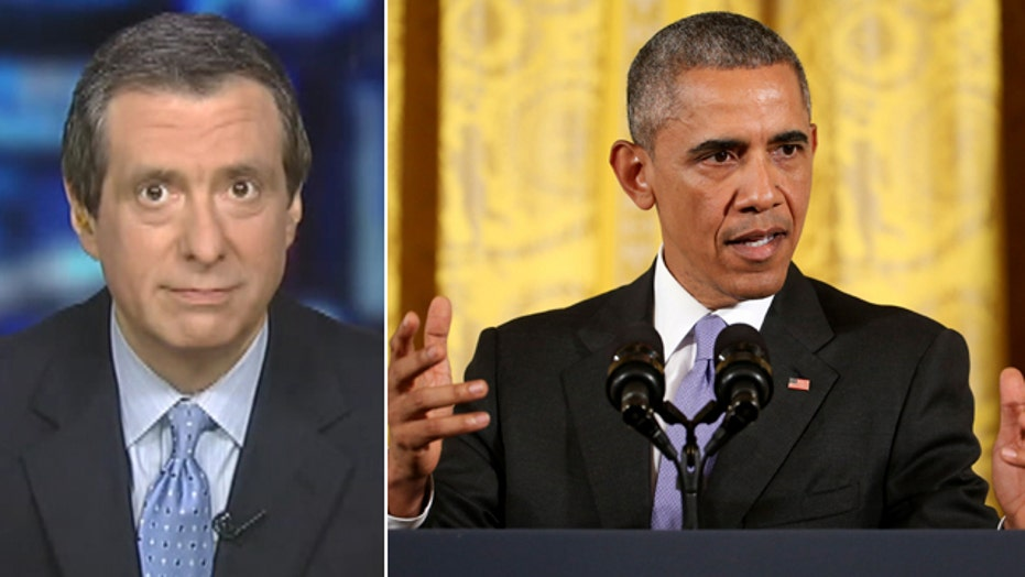 Kurtz: Obama plays defense -- at length