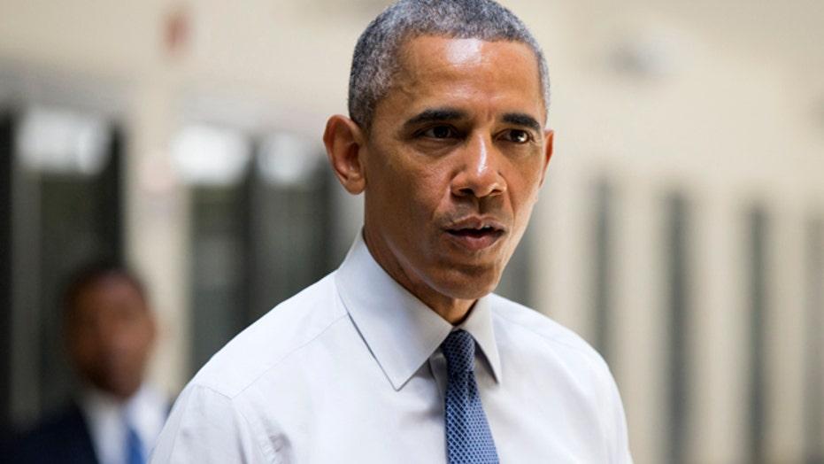 President Obama visits correctional facility in Oklahoma