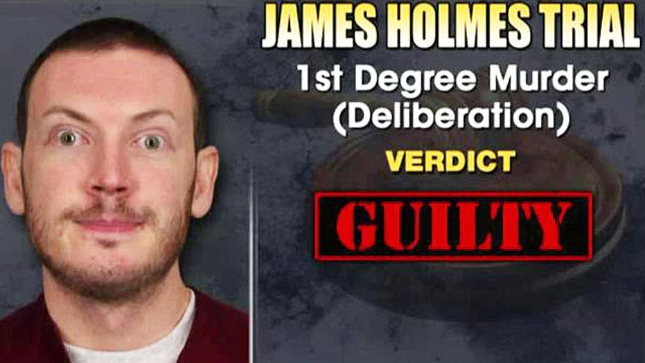 Jury finds James Holmes guilty of murder in the first degree