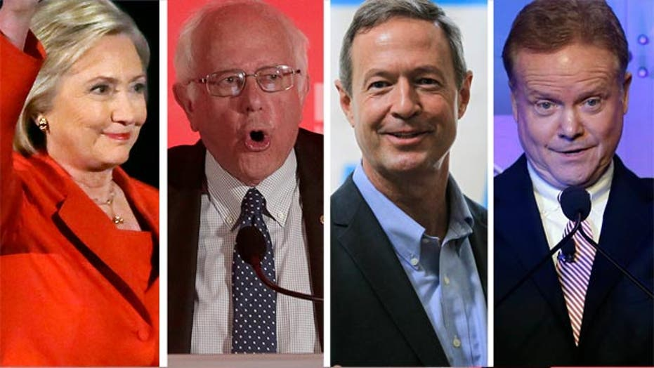 Democratic candidates converge on Iowa for 2016 cattle call