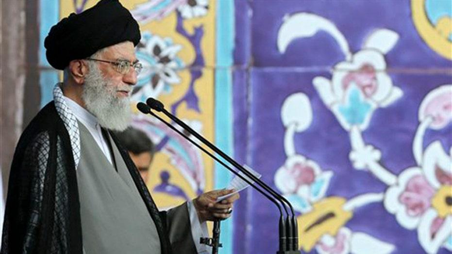 Ayatollah Khamenei calls U.S. 'arrogant'