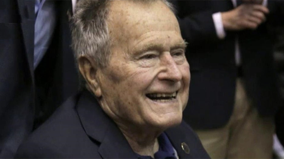 Former President George H. W. Bush released from hospital