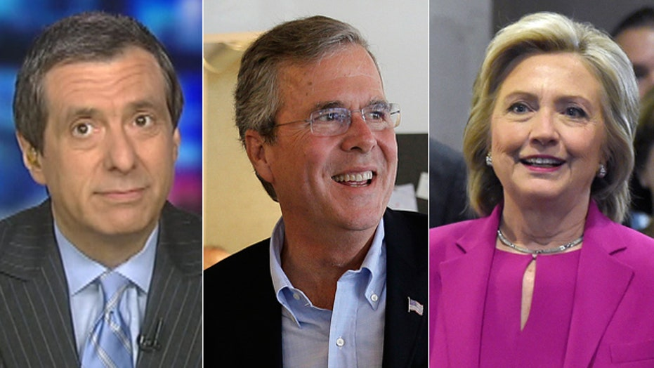 Kurtz: Another Bush-Clinton race (yawn)?