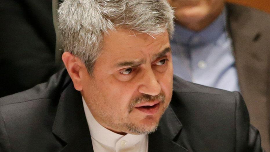Iranian diplomat blasts US, Israel at UN Security Council