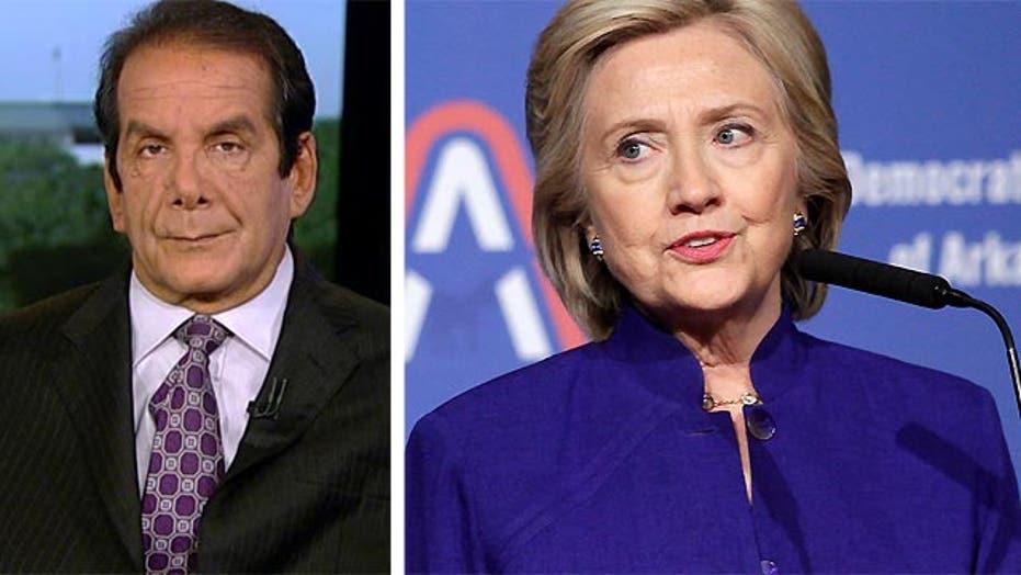 VIDEO: Krauthammer: Clinton a