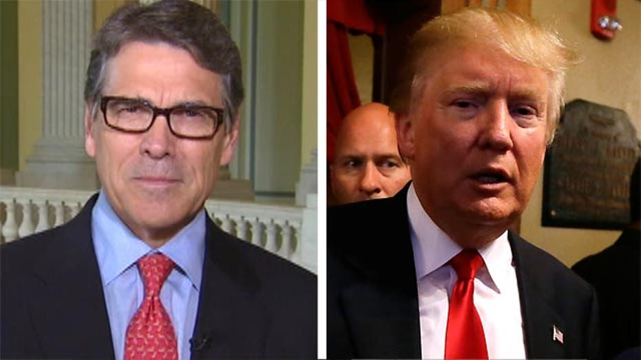 Rick Perry responds to Donald Trump's personal attacks