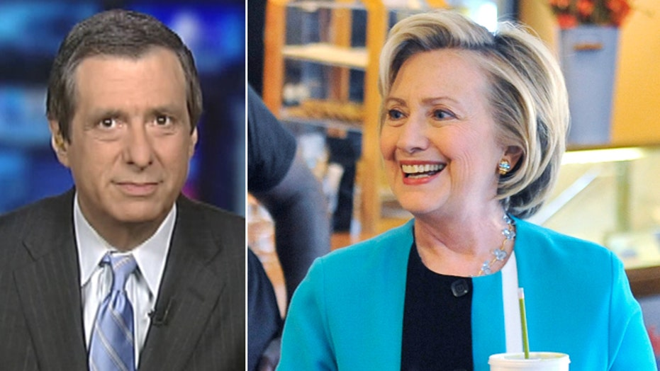 Kurtz: Is Clinton no longer inevitable?