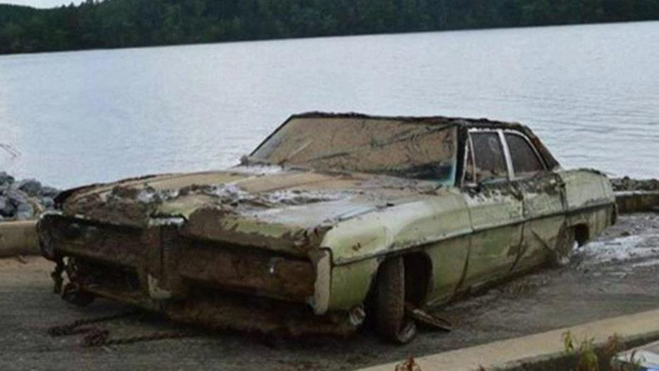 Remains of veteran missing 43 years found in sunken car