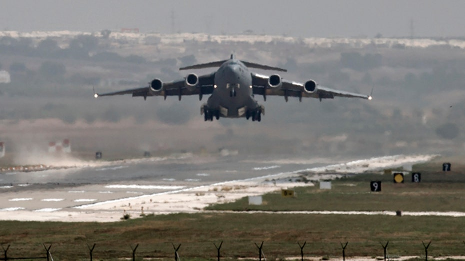Turkey strikes ISIS, agrees to let US use airbase