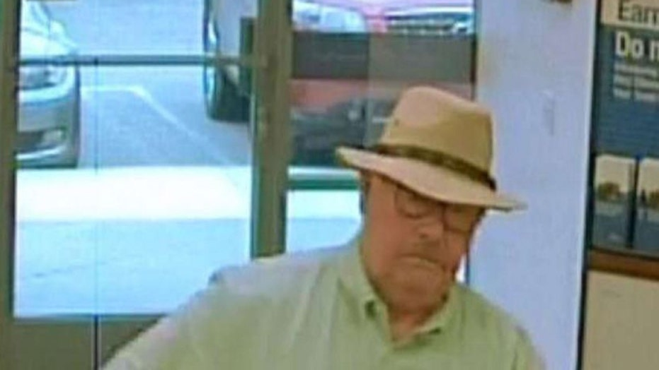 Elusive bank robber known as the 'Snowbird Bandit' arrested