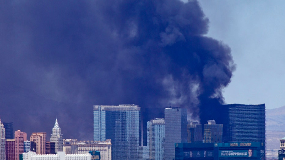 Fire at Cosmopolitan hotel in Las Vegas put out