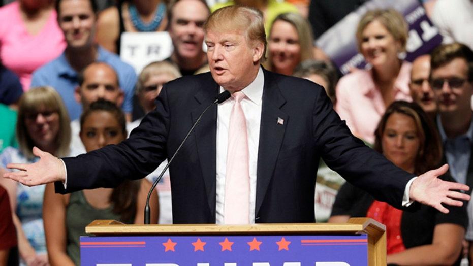 Trump talk dominates campaign