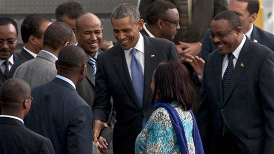 Obama to address human rights concerns in Ethiopia