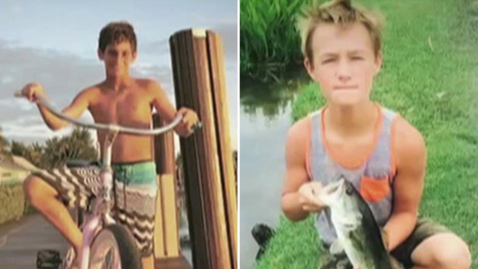 Capsized boat found, no sign of missing teens